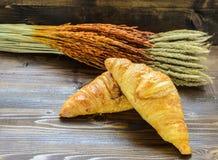 Pão, trigo, cevada, Fotos de Stock Royalty Free