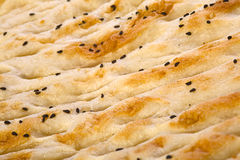 Pão turco Foto de Stock Royalty Free
