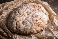 Pão velho recentemente cozido foto de stock royalty free