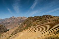 PÃsac arruina o vale sagrado Cusco imagem de stock