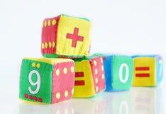 Pädagogische Spielwaren der Kinder Lizenzfreie Stockfotos