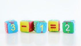 Pädagogische Spielwaren der Kinder Stockbilder