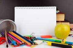Pädagogische Versorgungen Stockbilder
