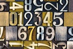 pädagogische Zählung von 123 Zahlen Stockfotos