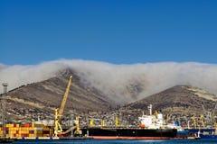 päfyllningsoljetankfartyg Royaltyfria Foton