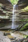 Pähler Schlucht vattenfall Arkivbild
