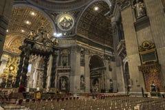 Päpstliche Basilika von St Peter in der Vatikanstadt, Vatikan Stockfoto