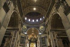 Päpstliche Basilika von St Peter in der Vatikanstadt, Vatikan Lizenzfreies Stockfoto