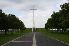 Päpstliches Kreuz Stockbild