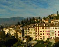 Pärlan av landskapet av Treviso Arkivfoto