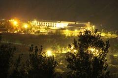 Pärlemorfärg kontinentalt hotell Muzaffarabad Azad Kashmir royaltyfri fotografi
