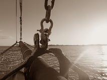 Pärlemorfärg loggert, Broome, västra Australien royaltyfri fotografi
