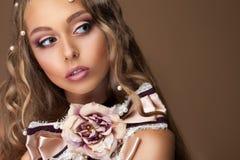 Pärlemorfärg pärlemorfärg skönhet royaltyfri fotografi