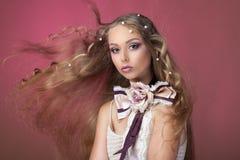 Pärlemorfärg pärlemorfärg skönhet Royaltyfri Foto