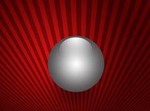 pärlemorfärg shinning sphere Royaltyfri Fotografi