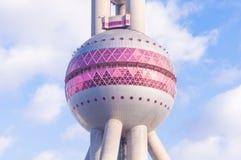 Pärlemorfärg torn för österlänning Royaltyfri Foto