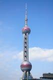 Pärlemorfärg torn Shanghai Fotografering för Bildbyråer