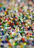 pärlor färgade mång- Royaltyfria Foton