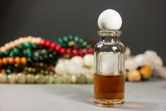 Pärlor och exponeringsglas Royaltyfri Foto