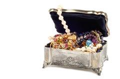 Pärlor och juvlar Royaltyfri Foto