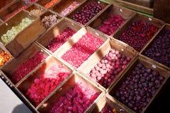 Pärlor på en marknad Fotografering för Bildbyråer