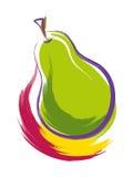 Päron vektor illustrationer