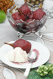 Päron i Caldas vin Arkivbild