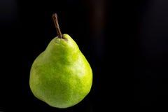 Päron i svart Royaltyfri Fotografi