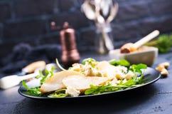 Päron med ost Fotografering för Bildbyråer
