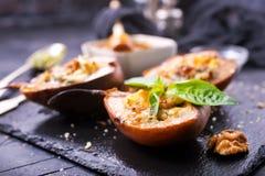 Päron med ost Royaltyfri Foto