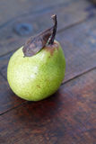 Päron på trä Royaltyfria Bilder