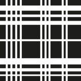 Płaskie Białe linie na czarnym tle royalty ilustracja