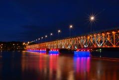Płock. Most im. Legionów Piłsudskiego royalty free stock photos