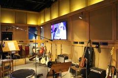 På ABBA museet i Stockholm Arkivfoton