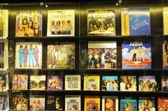 På ABBA museet i Stockholm Royaltyfri Foto