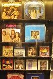 På ABBA museet i Stockholm Arkivbild