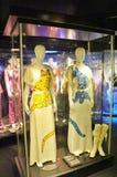 På ABBA museet i Stockholm Royaltyfria Foton
