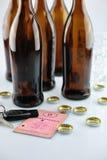 På alkoholskatt Arkivbilder