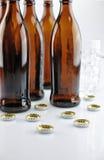 På alkoholskatt Arkivbild