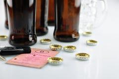På alkoholskatt Royaltyfria Foton