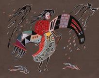 På bevekelsegrunder för Kandinsky ` s stock illustrationer