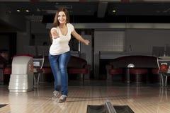 På bowlingklubban Royaltyfria Foton