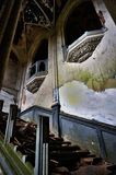 På den övergav slotten Royaltyfria Foton