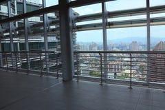 På den Petronas bron Arkivbild