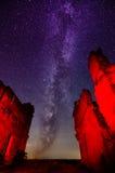 På den röda planeten Royaltyfri Foto