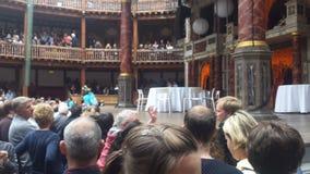 På den shakespeare Morden teaterlondon dramat Royaltyfria Bilder