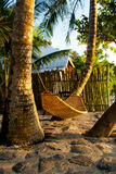 På en tropisk ö. Filippinerna Fotografering för Bildbyråer