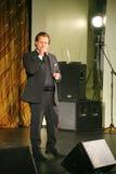 På etappen som sjunger Vasily Gerello G sångare för — sovjet- och ryssopera (barytonen) Royaltyfri Fotografi