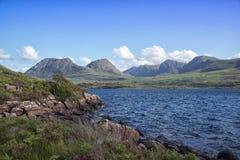 På fjordsidan Royaltyfri Bild