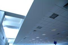 På flygplatsen Arkivbilder